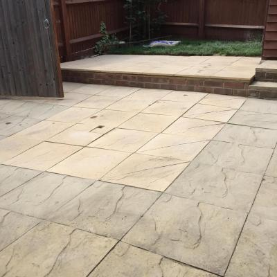 Patio Job